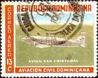 [Airmail - Dominican Civil Aviation, type LB]