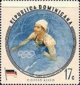 [Airmail - Olympic Games - Melbourne 1956, Australia - Winning Athletes, type LS]