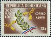[Airmail - The 1st Anniversary of Assassination of President Trujillo, Typ MK1]