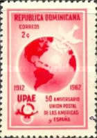 [The 50th Anniversary of Postal Union of the Americas and Spain, Typ MO]