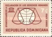 [Airmail - The 15th Anniversary of Declaration of Human Rights, Typ NB2]