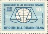 [Airmail - The 15th Anniversary of Declaration of Human Rights, Typ NB3]