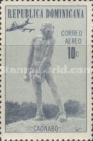 [Airmail - The 100th Anniversary of the Birth of A. R. Urdaneta (Sculptor), 1870-1933, Typ RB]