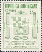 [The 8th Inter-American Masonic Conference, Santo Domingo, Typ RC]