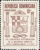 [Airmail - The 8th Inter-American Masonic Conference, Santo Domingo, Typ RC1]