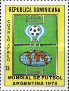 [Airmail - Football World Cup - Argentina, Typ YU]