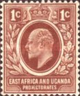 [King Edward VII - Value in C(ents), Typ A17]