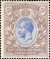 [King George V - See also No. 67-70, Typ D5]
