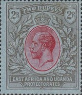 [King George V - New Watermark, Typ D9]