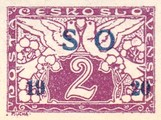 [Czeshoslovakian Express Stamps Overprinted