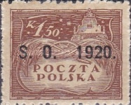 [Polish Stamps Overprinted