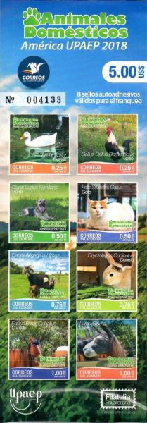 [America UPAEP Issue - Domestic Animals, Typ ]