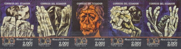 [The 100th Anniversary of the Birth of Oswaldo Guayasamín, 1919-1999, Typ ]