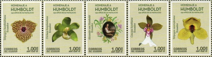 [Orchids - The 250th Anniversary of the Birth of Alexander Von Humboldt, 1769-1859, Typ ]