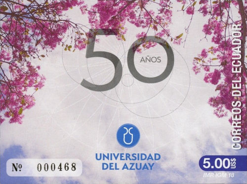 [The 50th Anniversary of the University of Azuay, Typ EQU]