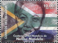 [The 100th Anniversary of the Birth of Nelson Mandela, 1918-2013, Typ EQV]