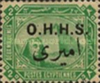 [Pyramid and Sphinx - Overprinted O.H.H.S. in English and Arabic, Typ D]