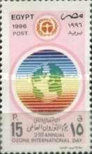 [International Ozone Day - Issue of 1995 Overprinted