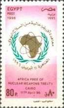 [Signing of Pelindaba Treaty declaring Africa a Nuclear Weapon-free Zone, Cairo, Typ AKE1]