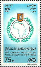 [The 50th Anniversary of Institute of African Research and Studies, Typ ALP]