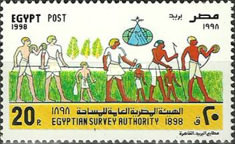 [The 100th Anniversary of Egyptian Survey Authority, Typ ANM]
