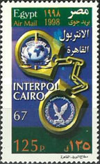 [Airmail - The 67th Interpol Meeting, Cairo, Typ ANN]