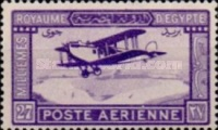 [Airmail - De Havilland DH.34 Biplane over Nile, Typ AQ]