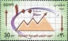[The 100th Anniversary of Cairo Bourse (Stock Exchange), Typ AUA]