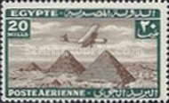 [Airmail - Airplane over Pyramids of Giza, type BK10]