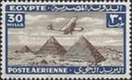 [Airmail - Airplane over Pyramids of Giza, type BK11]
