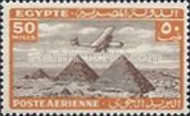 [Airmail - Airplane over Pyramids of Giza, type BK13]