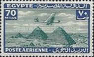 [Airmail - Airplane over Pyramids of Giza, type BK15]