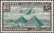 [Airmail - Airplane over Pyramids of Giza, type BK16]