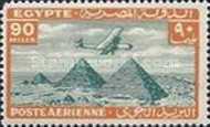 [Airmail - Airplane over Pyramids of Giza, type BK17]