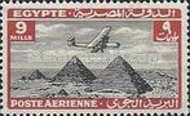[Airmail - Airplane over Pyramids of Giza, type BK8]