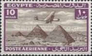 [Airmail - Airplane over Pyramids of Giza, type BK9]