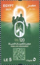 [The 120th Anniversary of MISR Life Insurance, type BOV]