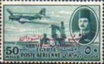 [Airmail - Nile Dam and King Farouk, Typ DH21]