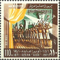 [Airmail - The 100th Anniversary of First Performance of Verdi's Opera