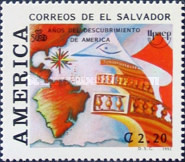 [America - The 500th Anniversary of Discovery of America by Columbus, Typ AMI]