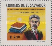 [The 125th Anniversary of the Birth of Alberto Masferrer (Sociologist), 1868-1932, Typ ANM]
