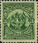 [Allegory of Central American Union, Typ BO2]