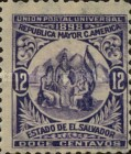 [Allegory of Central American Union, Typ BO5]