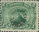 [No. 1-4 Overprinted - Star Before and After