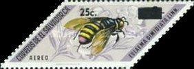 [Airmail - Insects Stamps of 1970 Surcharged, Typ KQ1]