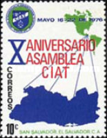 [The 10th Anniversary of Central Inter-American Tax-collectors Association, Typ OB]