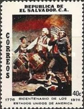 [The 200th Anniversary of American Revolution, Typ OD]