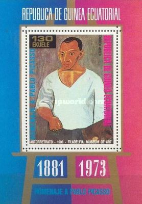 [Airmail - Paintings by Pablo Picasso, 1881-1973, type ]