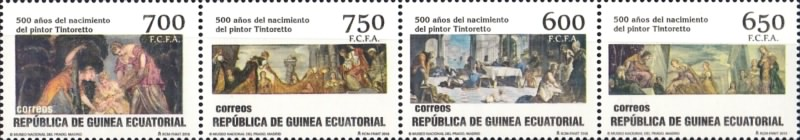 [Paintings - The 500th Anniversary of the Birth of Tintoretto, 1518-1594, type ]