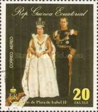 [The 25th Anniversary of the Reign of HRM The Queen Elizabeth II, тип AFR]